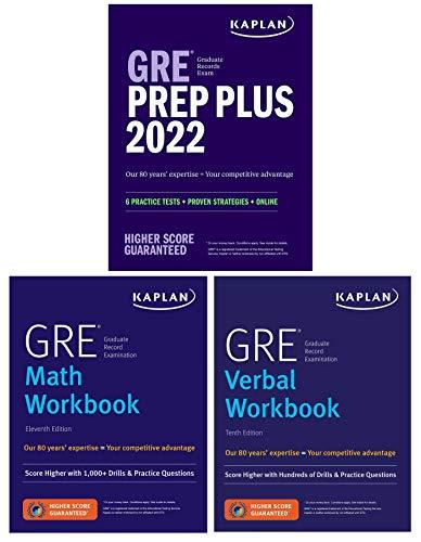 GRE Complete 2022: 3-Book Set: 6 Practice Tests + Proven Strategies + Online (Kaplan Test Prep)