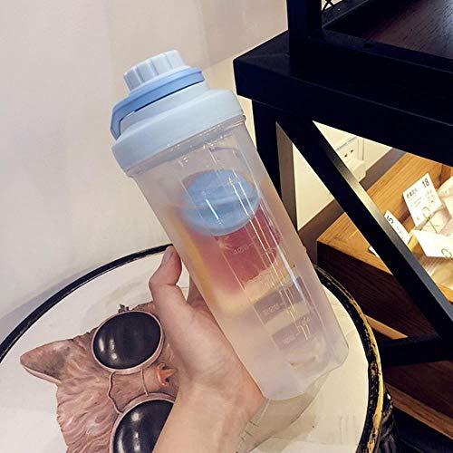 Copas De Champán, Tazas, Regalos 700 / 500Ml Shaker Sport Shaker Bottle Shaker Proteína Taza De Agua Speed Shake Botella De Agua De Gran Capacidad Sports Shaker Bottle