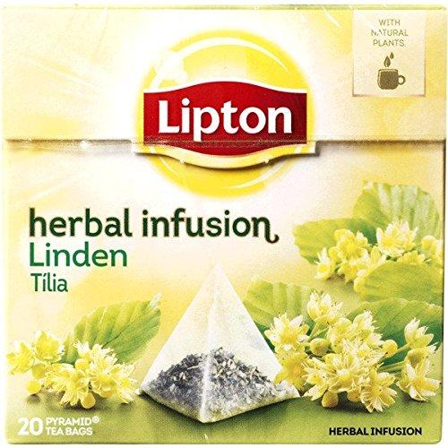 LIPTON - Linde Tee - 6 x 20 Pyramidbeutel (gesamt:120 st)