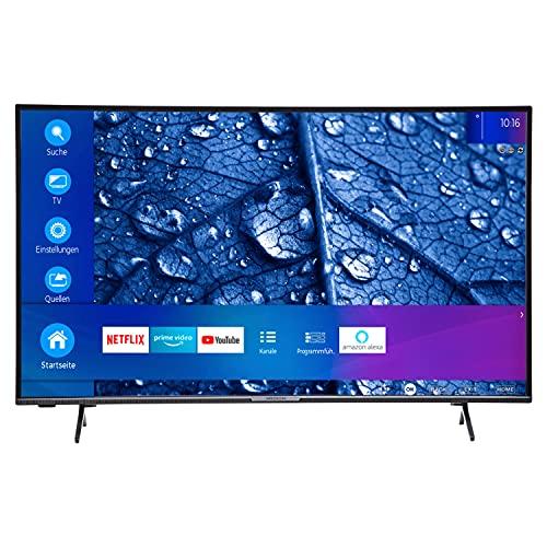 MEDION P14327 108 cm (43 Zoll) Full HD Fernseher (Smart-TV, HDR 10, Netflix, Prime Video, WLAN, PVR, Bluetooth, HD Triple Tuner, CI+)