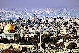 Fotografie City Skyline Jerusalem XXL Wandbild Kunstdruck