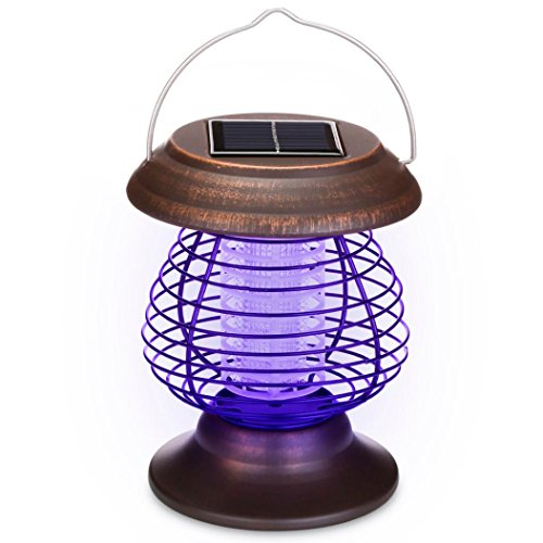 EUROM UV Lumière Insecticide MOUSTIQUES MOUCHES Piège Insect Kill espaces à 70 mâ²