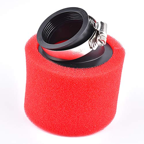 42 mm Air Filter Bent Foam Sponge Cleaner Recambio para Scooter ciclomotor 125cc 140cc 200cc CRF KLX Pit Dirt Bike
