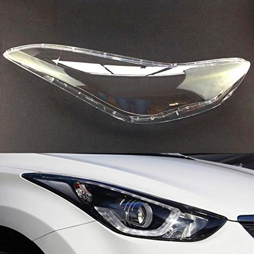 Scheinwerfer Glasabdeckung Auto Klar Scheinwerfer Objektivabdeckung Auto-Scheinwerfer-Objektiv Fit For Hyundai Elantra 2012 2013 2014 2015 2016 Scheinwerfer Objektiv-Auto-Ersatz-Auto Shell Cover