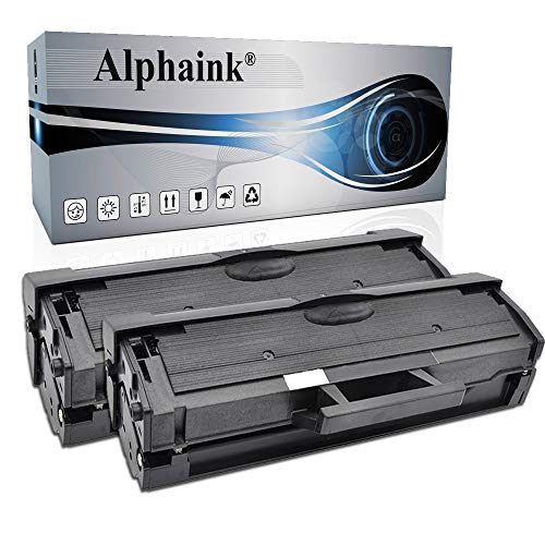 2 Toner Alphaink Compatibile con Samsung MLT-D111 versione da 1800 copie per stampanti Samsung SL M2020 M2020W M2022W M2026W XPRESS M2020 M2021 M2026 M2070 M2071HW M2078