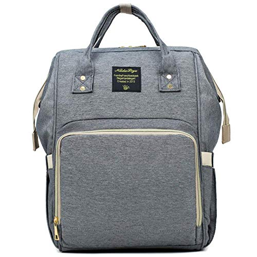 Mom Backpack, Frabe Family, Changing Bag, Baby Changing Bag, Changing Bag, Light Grey