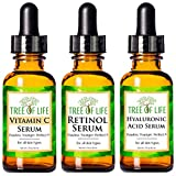 Best Vitamin C Serums - Anti Aging Serum 3-Pack for Face - Vitamin Review