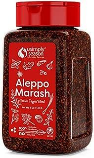 USimplyEason Red Pepper Flakes (Aleppo Marash, 5 Ounce)