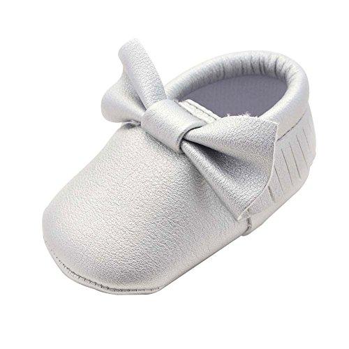Itaar , Baby Mädchen Lauflernschuhe silber silber 12-18 Monate