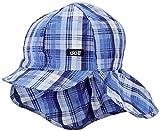 Döll Jungen Baseballmütze mit Nackenschutz Kappe, Blau (Deep Waterfall 3027), 55