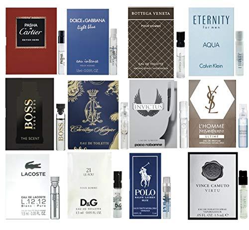 Men's Designer cologne samples - Lot x 12 High end Fragrance Sample Vials