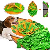 AWOOF Snuffle Mat for Dogs, Dog Nosework Feeding Mat, Pet Interactive Dog Puzzle Toys Encourages Natural Foraging Skills for Training and Stress Relief