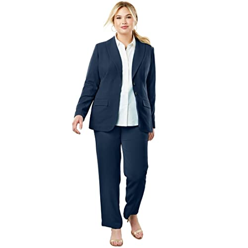 Women\'s Plus Size Business Pant Suits: Amazon.com