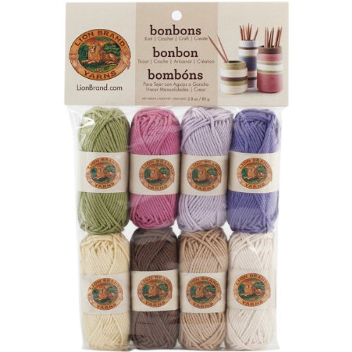 Lion Brand Yarn Company - Gomitoli, Naturale, Multicolore