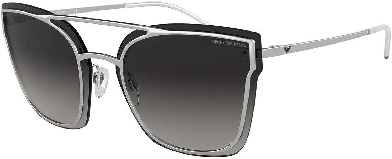 Emporio Armani EA 2076 SILVER GREY SHADED women Sunglasses