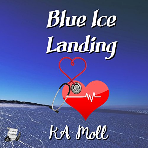 Blue Ice Landing audiobook cover art