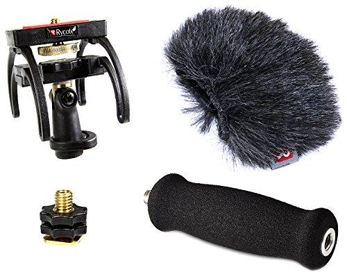 Rycote Audio Kit per Registratore Portatile Tascam DR 40, Grigio