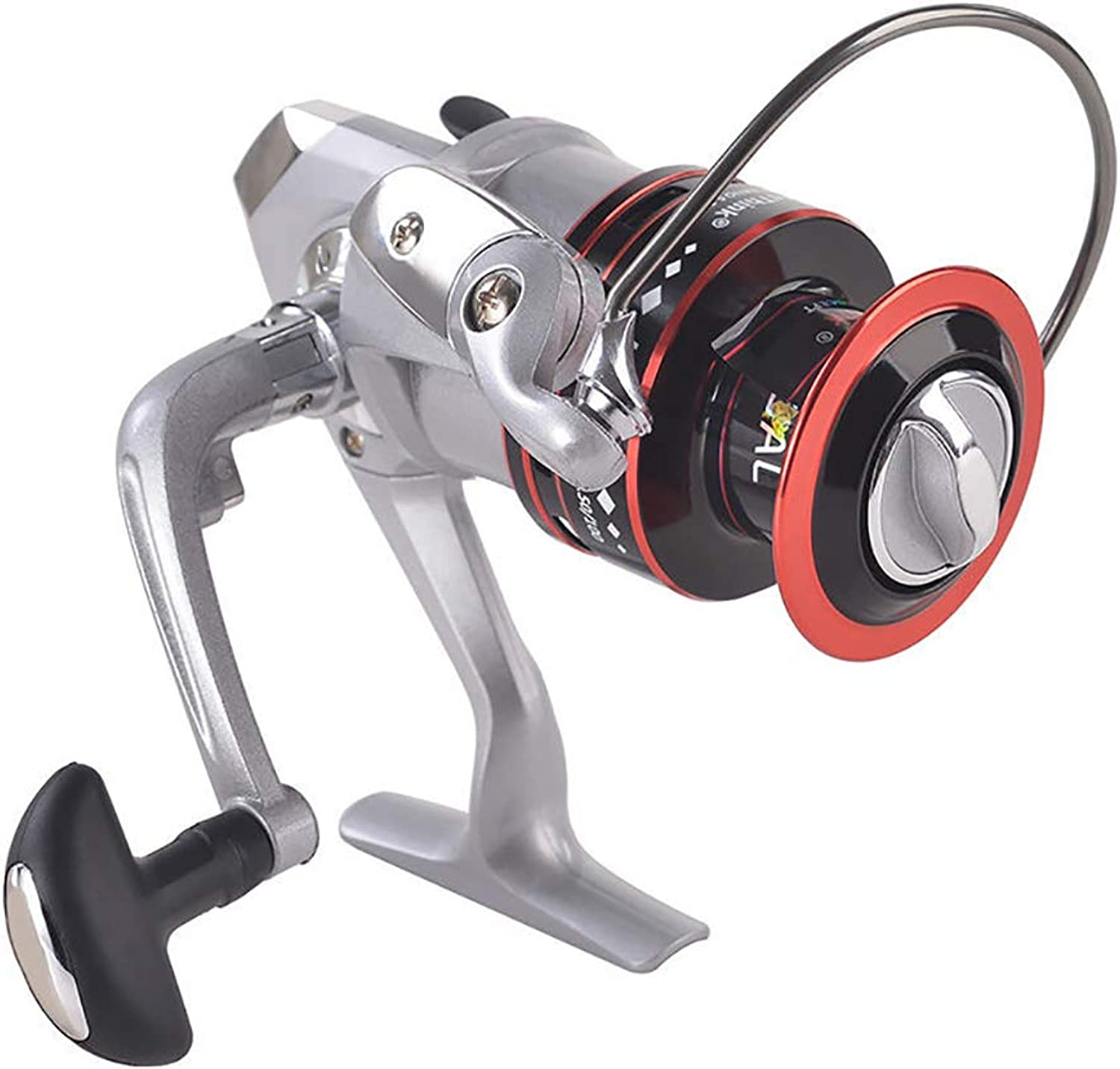 High Carbon Spinning Reel Smooth Wheel Axle Aviation Alloy Fishing Reels Outdoor Fishing Gear Sea Fishing Raft Fishing