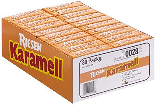 Storck Riesen Karamel, 80er Pack (80 x 30 g)