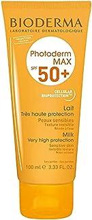 كريم فوتوديرم ماكس للحماية من الشمس، بقوام حليبي بمعامل حماية من اشعة الشمس 50 بلس من بايوديرما، 100 مل