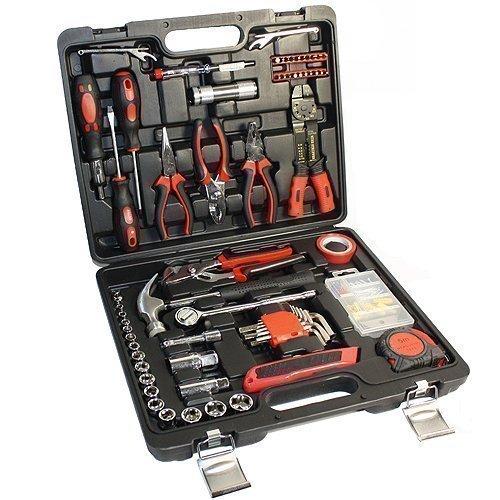 Werkzeugkoffer 179 Teile Werkzeugkiste im Blowcase Chrom Vanadium