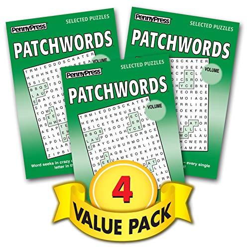 Patchwords Word Seeks 4-Pack