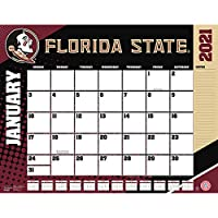 TURNER Sports Florida State Seminoles 2021 22X17 デスクカレンダー (21998061478)