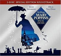 Mary Poppins by Julie Andrews, Dick Van Dyke, David Tomlinson, Glynis Johns, Ed Wynn, Karen Dotr [Music CD]
