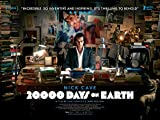 20,000 Days ON Earth - Nick Cave - U.S Movie Wall Poster