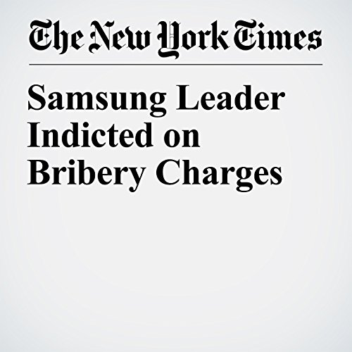 Samsung Leader Indicted on Bribery Charges copertina
