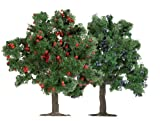 Busch 6649 - 2 Obstbäume HO/TT/N 75mm -