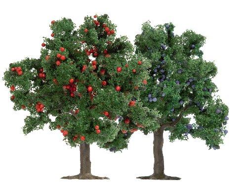 Busch 6649 - 2 Obstbäume HO/TT/N 75mm