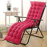 Cuscino lungo spesso Cuscino per lettino prendisole Cuscino per sedia reclinabile portatile con...