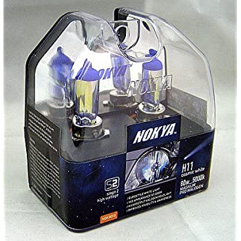 Nokya Magnum Cosmic White H11 Headlight Bulb 5000K