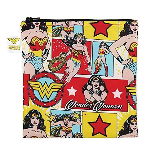 DC Comics Wonder Woman Large Reusable Snack Bag