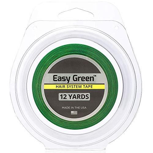 Easy Green Hair System Rouleau de ruban adhésif pour cheveux 1,9 cm x 91,4 m
