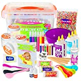 DilaBee - DIY Slime Making Kit - Super Jumbo Starter Set – Safety Tested & Certified! Non-Toxic Slime...