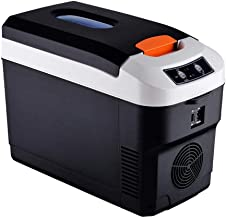 Yestter Nevera Refrigerador portátil de 10 litros para Uso en Exteriores, refrigerador, refrigerador pequeño, Mini refrigerador para Camping, refrigerador portátil, frío, Caliente 12v24V