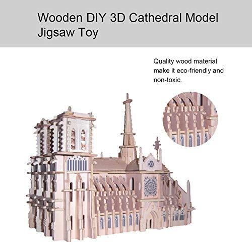 Brinquedo quebra-cabeça, brinquedo de madeira interessante ecológico para o jardim de infância para crianças para competição de ciência e tecnologia