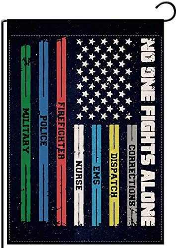 FLCHWY Spasm price Multi Line American US Double Flag Garden Vertical Sided outlet