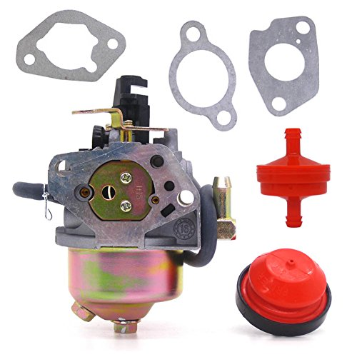 Price comparison product image FitBest Carburetor with Primer Bulb Fuel Line Filter for Cub Cadet,  MTD,  Troy-Bilt Snowblower 751-11303,  951-14023A,  951-11303,  951-11303A Carb