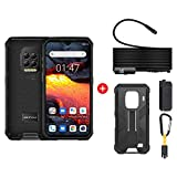 India Gadgets - Ulefone Armor 9E Waterproof Rugged Android Mobile Phone: 8Gb + 128Gb: 6.3' FHD+ IPS Display: 64MP Quad Camera: Large 6600mAh Battery: Supports Endoscope (Phone + Case + Endoscope)