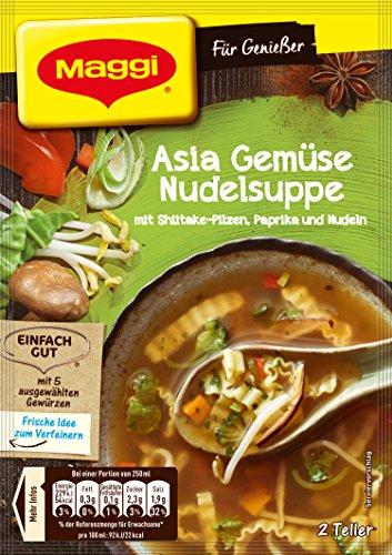 Maggi Für Genießer Asia Gemüse Nudelsuppe, 34 g