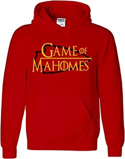 RED Kansas City Mahomes Game of Hooded Sweatshirt