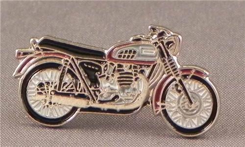 Spilla in Metallo smaltato Triumph Bonneville Bici