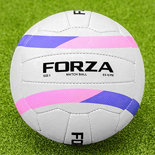 Buy FORZA International Match Ball - Official Size and Weight - Dual Grain Panels (Size 5, Pack of 1...