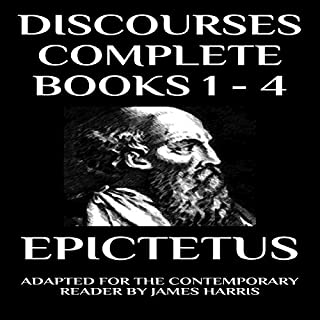 Discourses: Complete Books 1-4 audiobook cover art