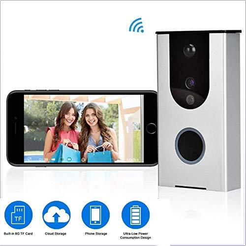 720P WIFI Wireless Video deurbel Mobile Remote Real-Time 2-weg Talk Video HD bewakingscamera met bewegingsdetectie alarm for iOS en Android HAOSHUAI
