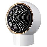 Palm kloset . Home Calentador Peque?o Calentador de Escritorio Calentador Mini portátil de Oficina Dormitorio Calentador rápido Dios (Color:Blanco) (Color : White, Size : OneSize)