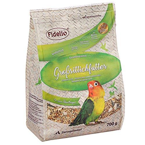 Fidelio Großsittichfutter, 5er Pack (5 x 700 g)